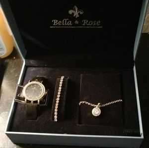 """BELLA & ROSE"" CUSTOM DESIGN JEWELRY SET!"